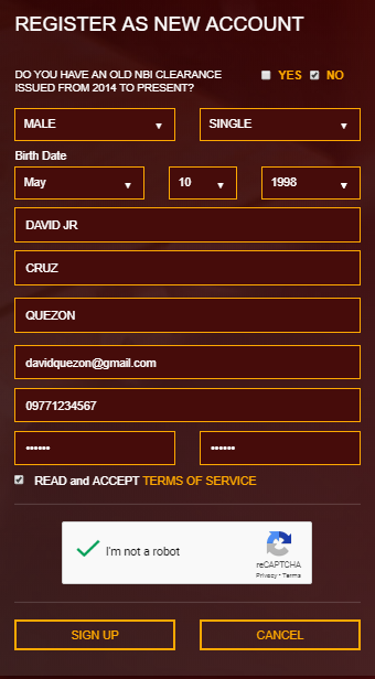 NBI CLEARANCE ONLINE REGISTRATION AND APPLICATION  NBI CLEARANCE ONLINE REGISTRATION | NBI CLEARANCE REGISTER NEW ACCOUNT