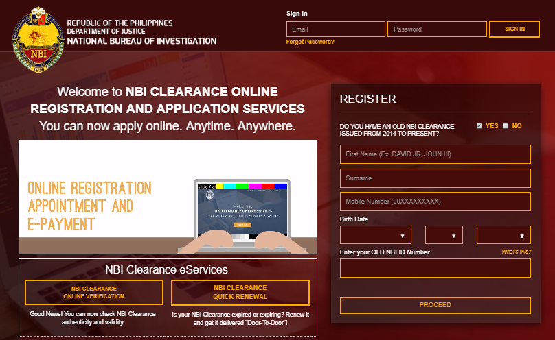 NBI CLEARANCE GUIDE FOR NEW APPLICANTS ONLINE nbi clearance guide for new applicant NBI CLEARANCE GUIDE FOR NEW APPLICANT ONLINE NBI CLEARANCE GUIDE FOR NEW APPLICANTS ONLINE